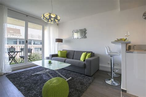 Location appartement meublé Rue Anatole France, Levallois Perret   Ref 12452