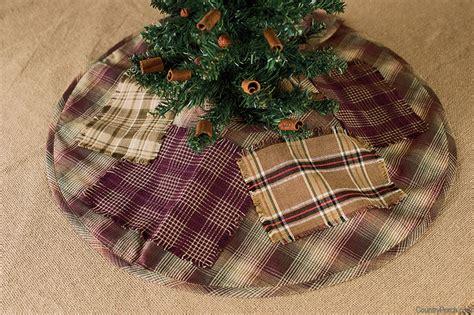 truman mini christmas tree skirt