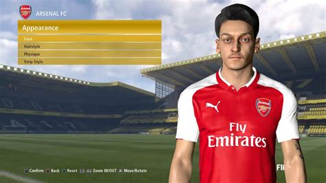 mesut ozil tattoo pes 2017 mesut 214 zil by ahmed facemaker