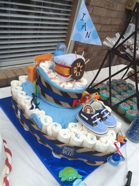 how to make a boat shaped diaper cake best 20 boat diaper cake ideas on pinterest diaper