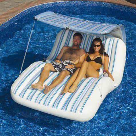 inflatable luxury cabana float