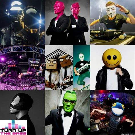 best techno djs in the world top 10 djs who wear masks or helmets turn up the bass