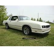 1986 Chevrolet Monte Carlo Ss Aerocoupe Photo