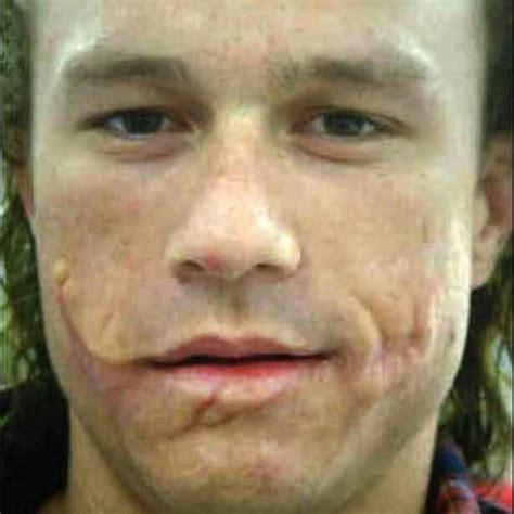 Heath Ledgers Joker Looks Familiar by Heath Ledger S Joker Scars Books And
