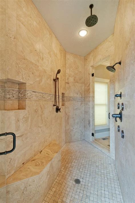 Shared Shower Between Two Bathrooms Shared Shower Doors On Both Sides Leading To Separate His