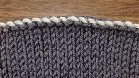 knitting bind how to knit elizabeth zimmermann s sewn bind new