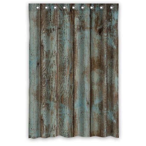 rustic curtain free shipping modern design waterproof shower curtain