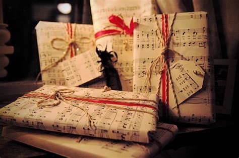 bow bows christmas gifts music image 120386 on