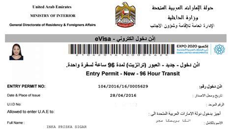 Membuat Visa Dubai | cara membuat visa abu dhabi uae nona di jalan