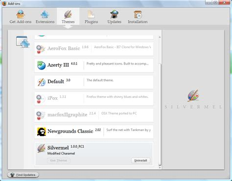 firefox best themes download silvermel the best theme for firefox and thunderbird