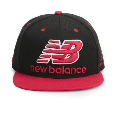 new balance unisex courtside 6 panel flat peak baseball