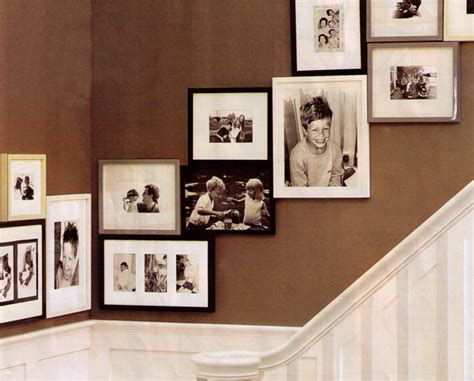 picture frame hanging ideas besure designs hanging pictures artwork in a stairway