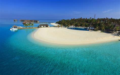 paradise wallpaper hd iphone maldives luxury resort iphone panoramic wallpaper hd pic