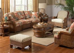 Wicker Living Room Chairs Furniture Presenting Comfortable Atmosphere By Adding Enchanting Rattan Furniture Indoor
