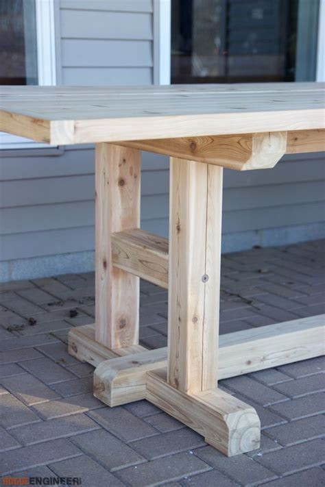 diy kitchen table plans 25 best ideas about table legs on diy table