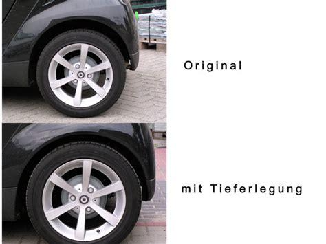 Fahrwerk Tieferlegen by Tieferlegung H R Smart 451 43695