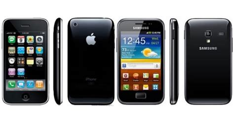 Its Finally Here The Iphone 3g by Samsung Is Now Shamelessly Ripping The Design Of The 4