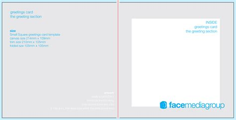 Free Blank Greetings Card Artwork Templates For Download Face Media Group Photo Card Templates