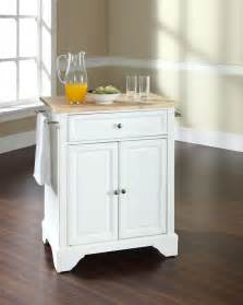 Portable Island For Kitchen by Portable Kitchen Island For Extra Storage In Small Cooking