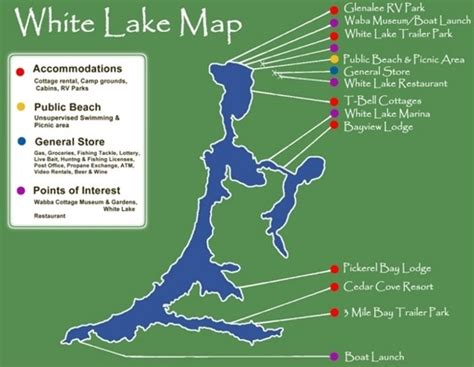 public boat launch drag lake maps discover incredible white lake ontario canada
