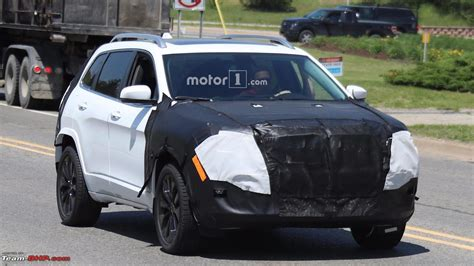jeep usa 2018 jeep cherokee spotted testing in usa team bhp