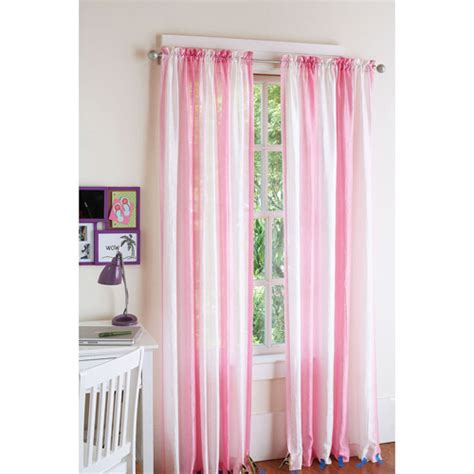 your zone curtains your zone crushed ombre curtain pink jubilee 52 in x 84