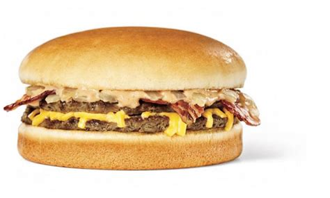 10 Ridiculously Unhealthy Hamburgers Fastfoodmenuprice Com