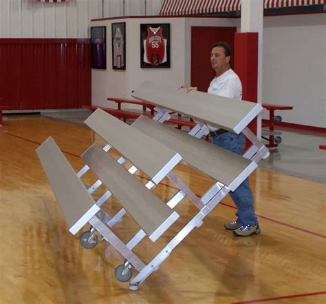 second hand school benches portable indoor bleachers for sale at builtrite bleachers