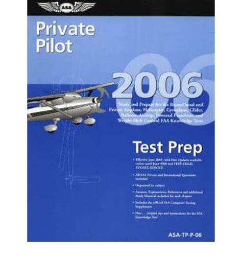 Test Your 2006 Knowledge by Pilot Test Prep 2006 Aviation Supplies