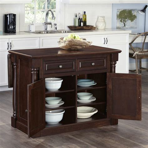 monarch cherry kitchen island with storage 5007 944 the