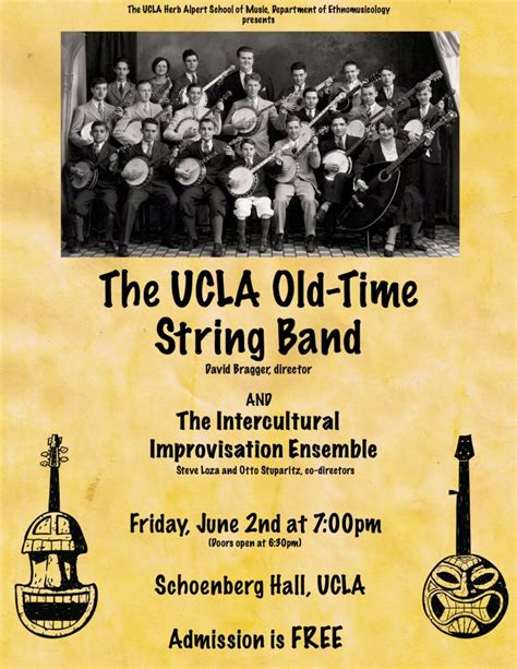 Organ Ensemble The Ucla Herb Events The Time Tiki Parlour