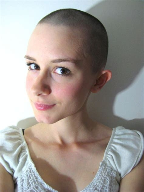 women with buzz cuts and head shave 66 best images about bald is beautiful on pinterest