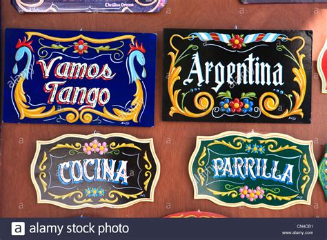 Souvenir Argentina Magnet Kulkas Buenos Aires argentina buenos aires la boca district detail of signs in a stock photo royalty free image