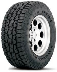Toyo All Terrain Truck Tires P285 70r17 Toyo Open Country A T Ii All Terrain Tire Toy352150