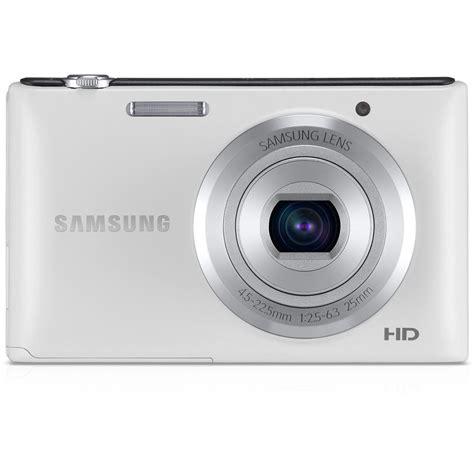 Kamera Digital Samsung St72 samsung st72 digital white ec st72zzbpwus b h photo