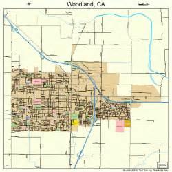 map of woodland california woodland california map 0686328