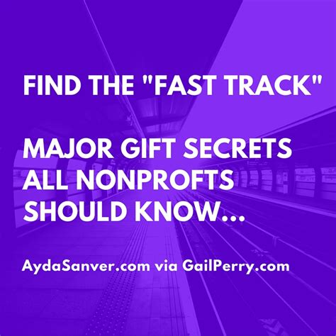 Mba Nonprofit Consulting by Major Gift Secrets All Nonprofits Should The Fast