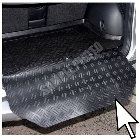 Boot Mat Tray by Volkswagen Caddy Maxi 7 Seats 2008 Onwards Car Boot