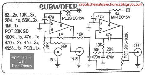 Subwoofer Aktif Rogers 8 System 21 subwoofer module lifier electronic