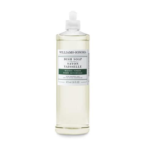 Rainforest Dishwash Soap williams sonoma essential oils dish soap winter forest williams sonoma
