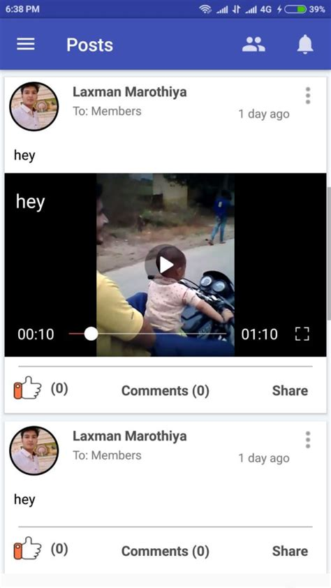 tutorial video player android facebook like video player with fullscreen in recyclerview