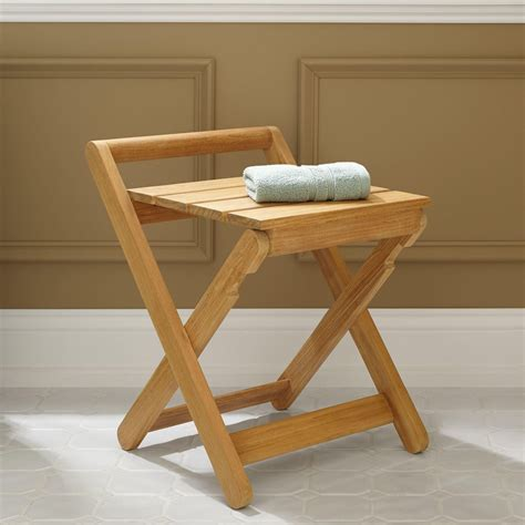 small teak shower bench folding teak shower bench small teak furnitures best