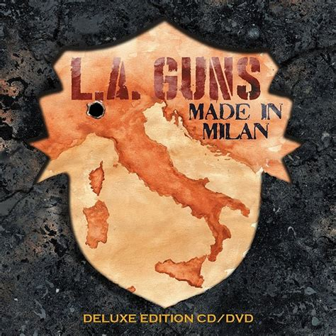 Made In L A l a guns quot made in milan quot cd dvd 2018 rocknewz