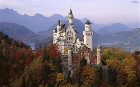 windows 7 desktop themes germany castle desktop backgrounds wallpaper cave