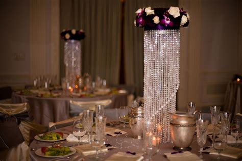 Centerpiece Chandelier Purple Chandelier Centerpiece Deco