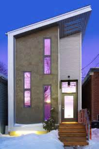 Narrow Modern House Narrow Modern Infill Tiny House Idesignarch Interior