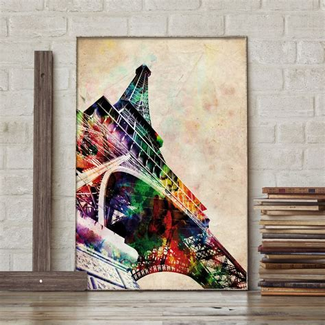 Poster Eiffel poster eiffelturm by michael tompsett bei up 174 kaufen