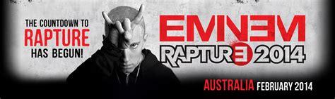 eminem rapture tour australia eminem rapture tour australia