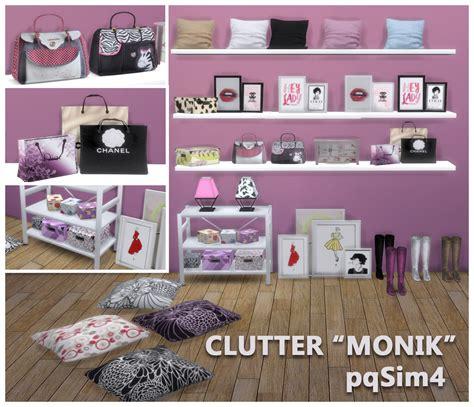 Clutter 4 Custom Content Sims | clutter de dormitorio quot monik quot sims 4 custom content
