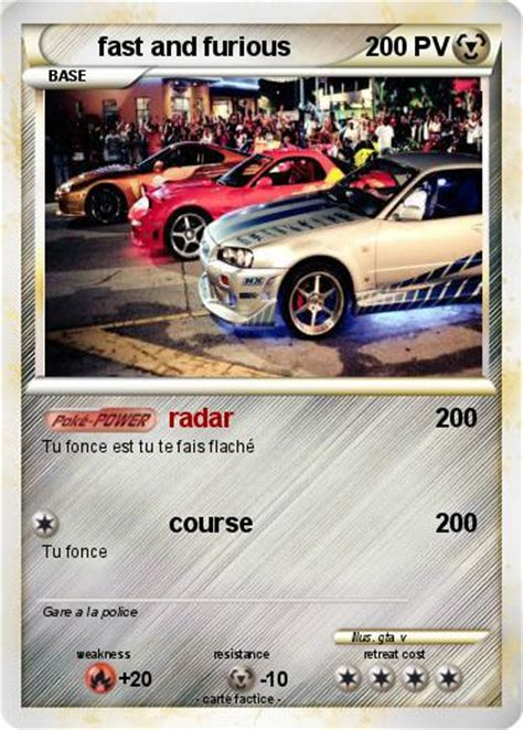 Pok 233 Mon Fast And Furious 27 27 Radar Ma Carte Pok 233 Mon Coloriage De Voiture De Fast And Furious